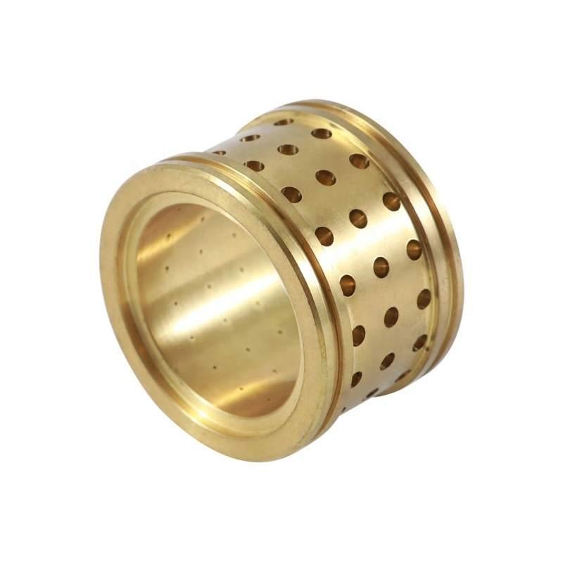 High Precision Brass Copper Gear CNC Machining Service Aixi